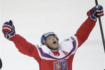 Яромир Ягр вывел Чехию в полуфинал чемпионата мира по хоккею
