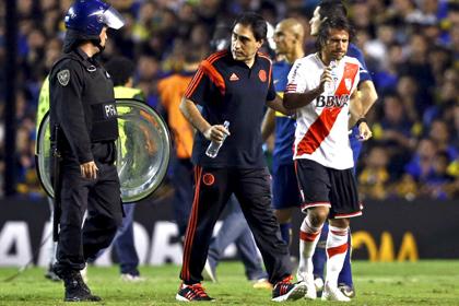 Матч Кубка Либертадорес прервали из-за слезоточивого газа