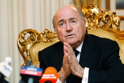 Глава Футбольной ассоциации Англии призвал Блаттера подать в отставку