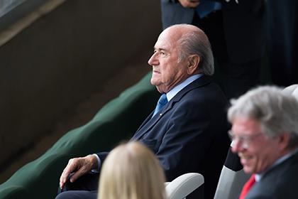 Блаттер отменил выступление на конференции ФИФА из-за скандала