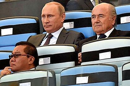Путин прокомментировал роль США в арестах чиновников ФИФА