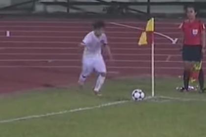 Вьетнамская футболистка дважды забила ударом с углового