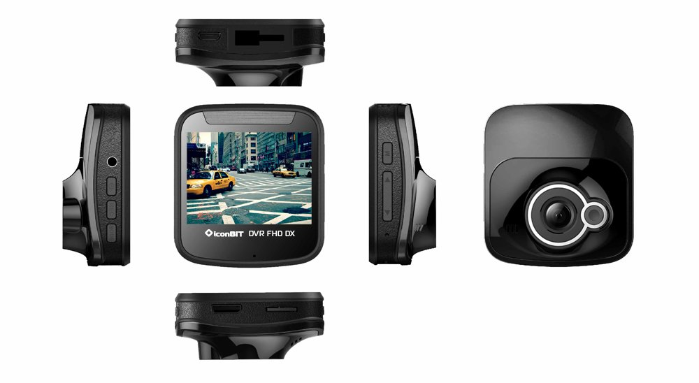 IconBit DVR FHD DX — независимый свидетель на дороге