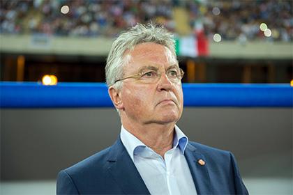 СМИ сообщили о скором увольнении Хиддинка с поста тренера сборной Нидерландов