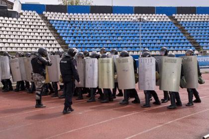 Полиция Ярославля приготовила для фанатов «Спартака» несмываемую краску