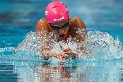 Отбывшая дисквалификацию российская пловчиха выиграла золото на ЧМ в Казани
