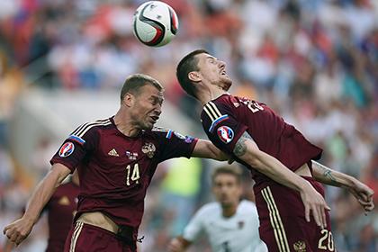 Сборная России потеряла три позиции в рейтинге ФИФА