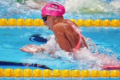 Отец Ефимовой оправдал поражение пловчихи на дистанции 200 метров брассом
