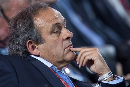 Платини призвал не увязывать скандал в ФИФА с проведением ЧМ-2018 в России