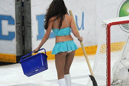 «Салават Юлаев» начал поиски уборщиц льда с модельной внешностью