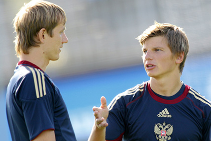 Слуцкий рассказал о шансах Аршавина и Павлюченко попасть в сборную России