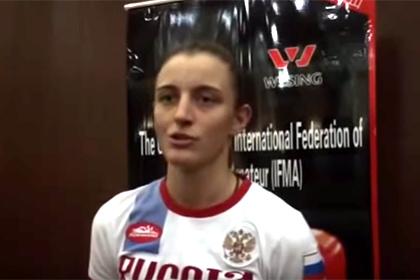 Чемпионка мира по тайскому боксу открыла стрельбу в центре Омска