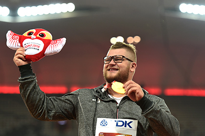 Пьяный чемпион мира расплатился в такси своей золотой медалью