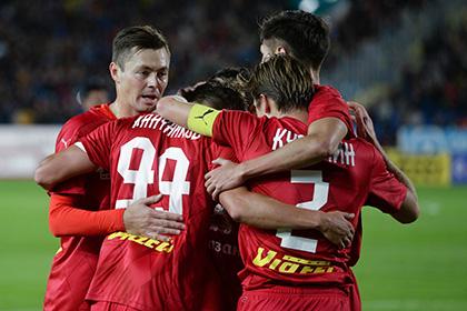 «Рубин» начал групповой турнир Лиги Европы с поражения от швейцарского «Сьона»