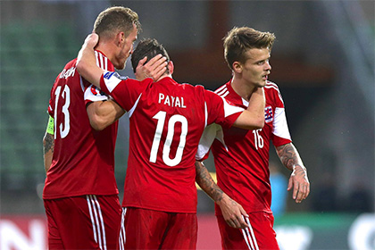Сборная Люксембурга отравилась перед матчем с белорусами