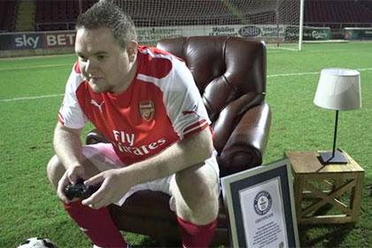 Фанат «Арсенала» установил рекорд продолжительности игры в футбольный симулятор