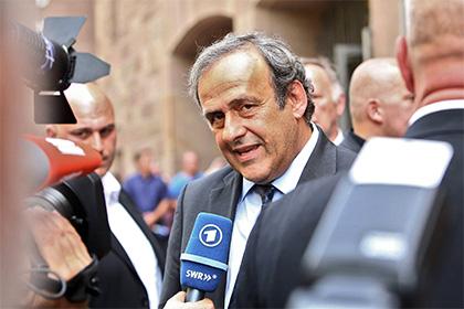 Шансы Платини стать президентом ФИФА упали в полтора раза