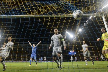 Белорусский БАТЭ забил три гола «Роме» в Лиге чемпионов