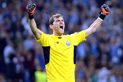 Касильяс установил рекорд по количеству матчей в Лиге чемпионов