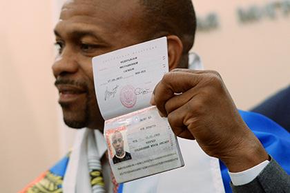 Рою Джонсу вручили российский паспорт