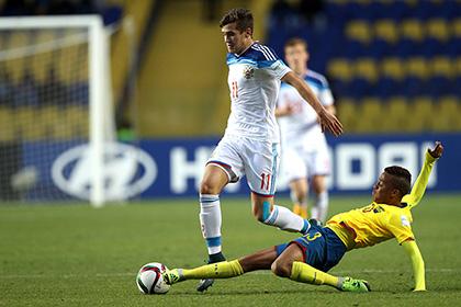 Сборная России по футболу крупно проиграла Эквадору в 1/8 финала юношеского ЧМ