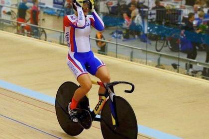 Велогонщица Войнова победила на чемпионате Европы с мировым рекордом