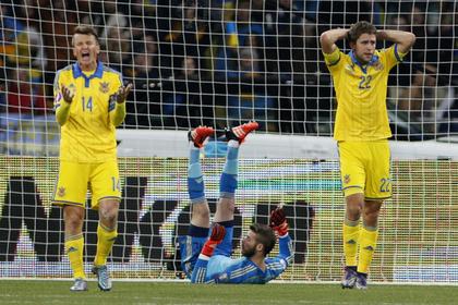 Украина узнала соперника по стыковым матчам Евро-2016