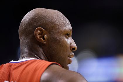 Вышедший из комы чемпион НБА Ламар Одом начал двигаться