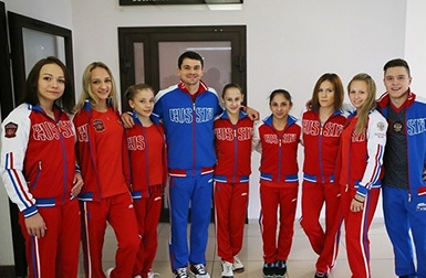 Руководители российского спорта встретились с командой по спортивной гимнастике