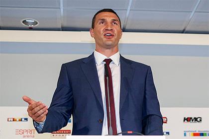 Кличко заявил о готовности продолжить миссию по воспитанию Фьюри