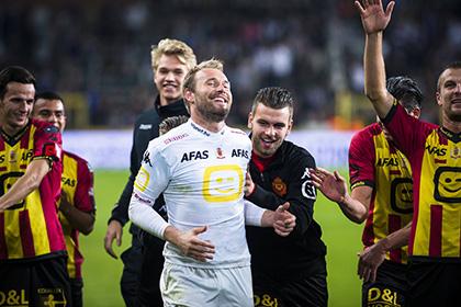 Вратарь бельгийского клуба отразил три пенальти за матч