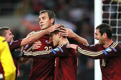 Сборная России по футболу вышла в финальную часть Евро-2016