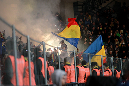 Федерация футбола Молдавии извинилась за поведение фанатов на матче с Россией