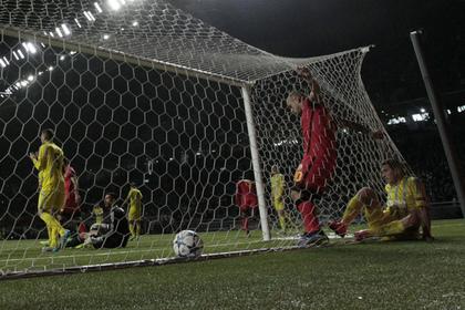 Три автогола было забито в матче Лиги чемпионов в Казахстане