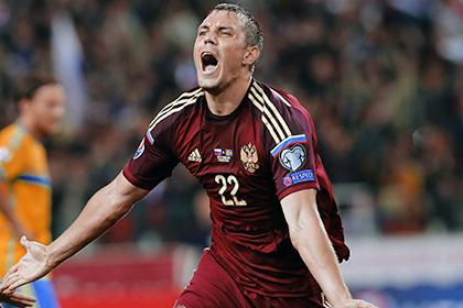 Дзюба вошел в символическую сборную квалификации Евро-2016