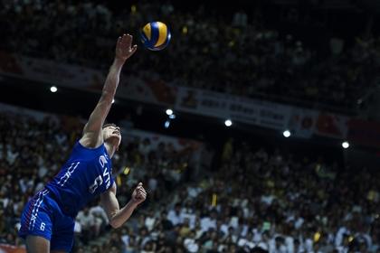 Российские волейболисты остались без медалей чемпионата Европы