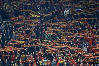 Футбольный матч Бельгия-Испания отменен по соображениям безопасности