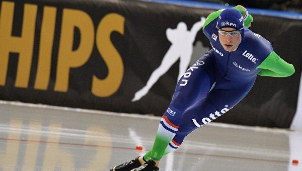Конькобежец Крамер стал 8-кратным чемпионом Европы