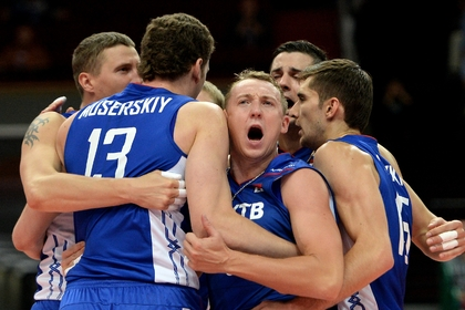 Мужская сборная России по волейболу завоевала путевку на Олимпиаду-2016