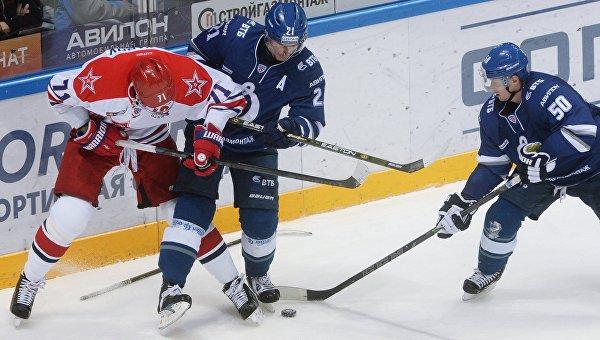 ЦСКА одержал седьмую победу подряд в КХЛ, обыграв московское «Динамо»