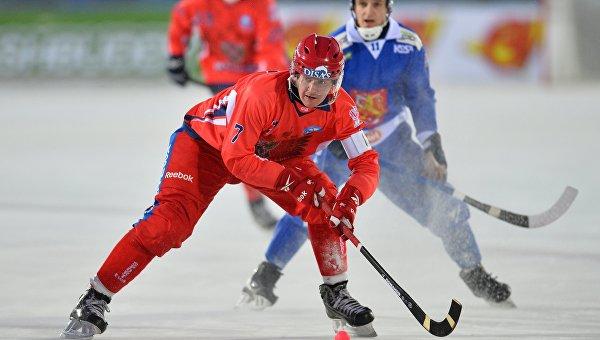 Путин встретится со сборной России по хоккею с мячом