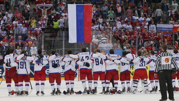 Сборная России по хоккею сыграет с Норвегией в Санкт-Петербурге