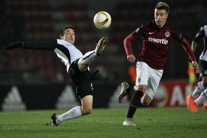 «Краснодар» проиграл чешской «Спарте» в первом матче 1/16 финала Лиги Европы