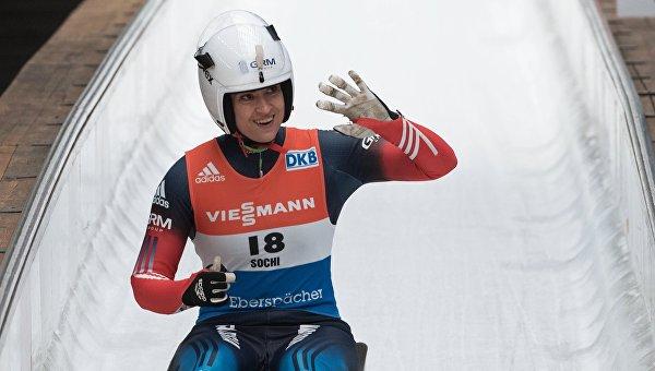 Саночница Иванова стала второй в общем зачете Кубка мира