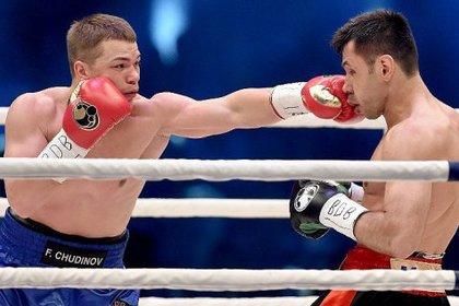 Чудинов в бою со Штурмом потерпел первое поражение в карьере
