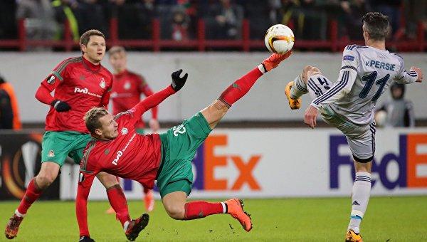 Определились все участники 1/8 финала футбольной Лиги Европы