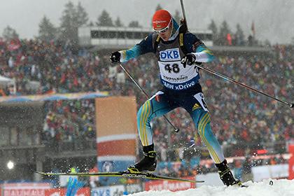 Второго за месяц биатлониста сборной Украины уличили в допинге