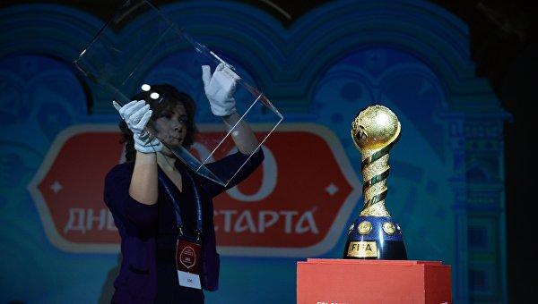 Эмблема Кубка конфедераций-2017 представлена в Москве