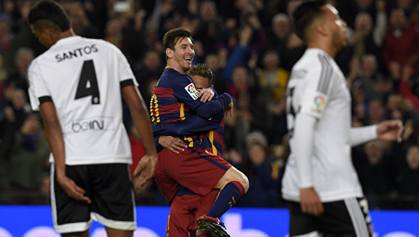 «Барселона» обыграла «Валенсию» в Кубке Испании со счетом 7:0