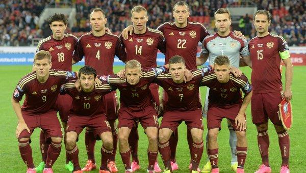 Сборная России по футболу поднялась на 23-е место в рейтинге ФИФА